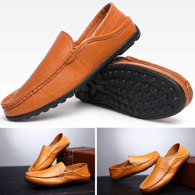 Hand-made Casual Leather Shoes Imported From Italy